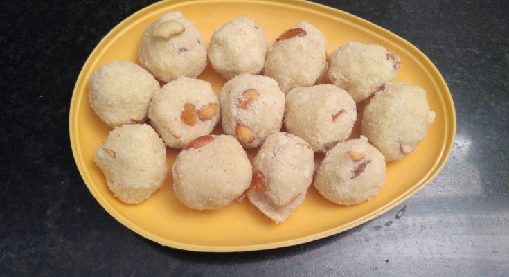 Madurai Kitchen Rava Laddu