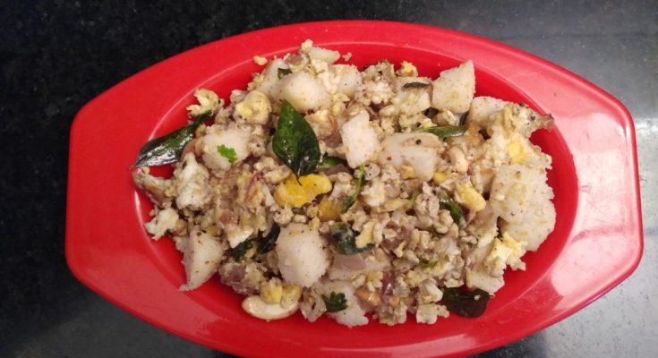 Madurai Kitchen Egg Fried Idli