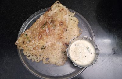 Madurai Kitchen Rava Dosai