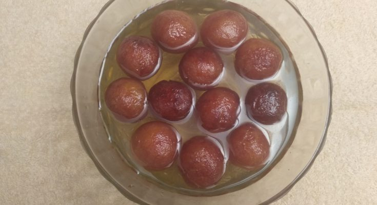 Madurai Kitchen Gulab Jamun