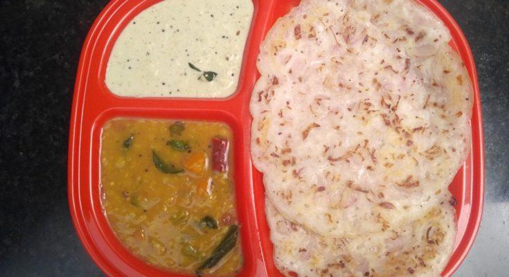 Madurai Kitchen Onion Dosai