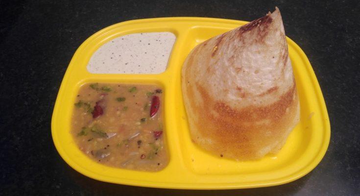 Madurai Kitchen Ghee Dosai