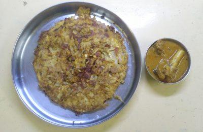 Madurai Kitchen Mutton Kari Dosai