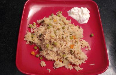 Madurai Kitchen Veg Briyani
